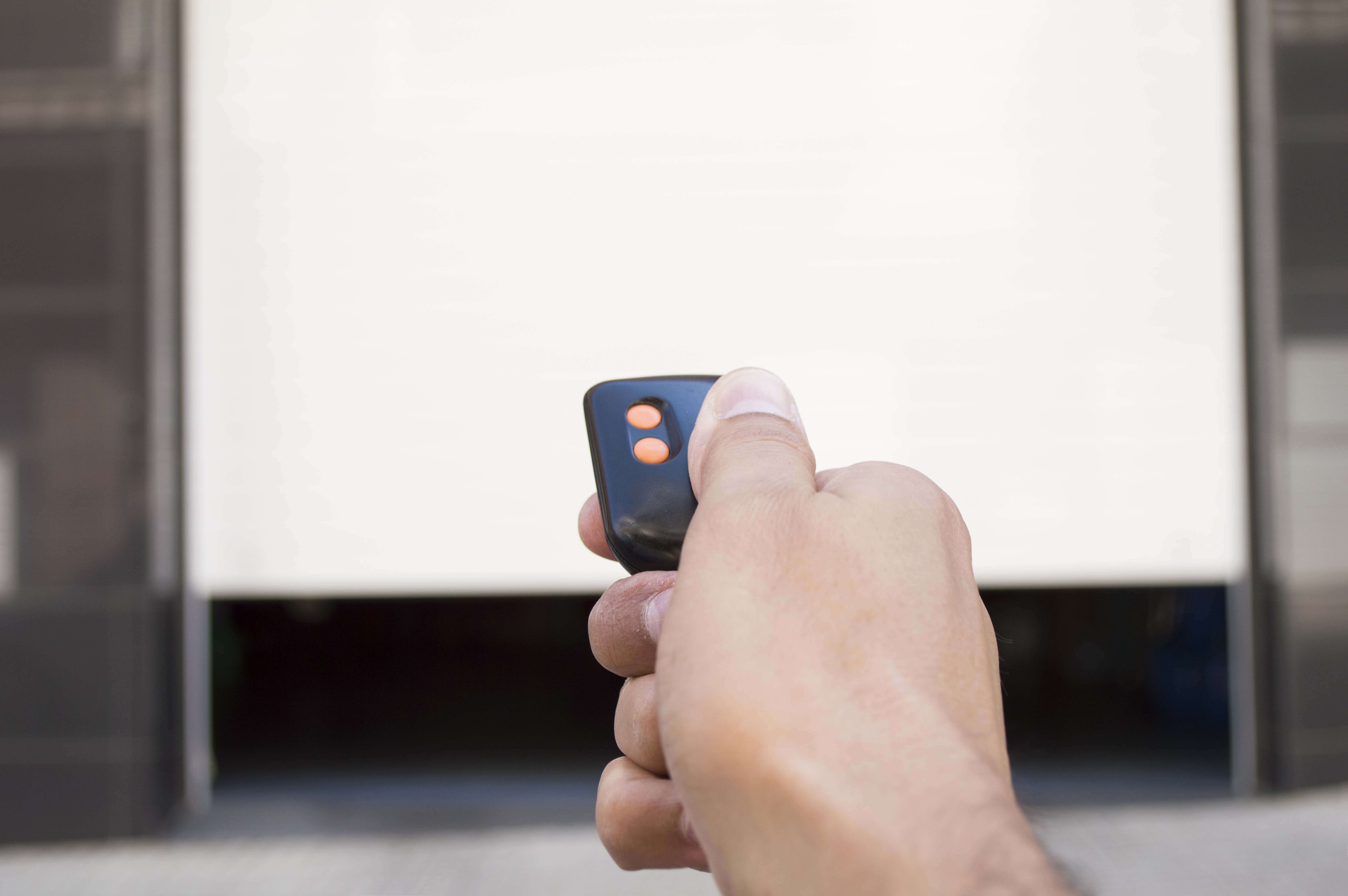 garage door opener remote